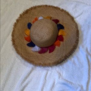 Kate Spade sombrero style hat